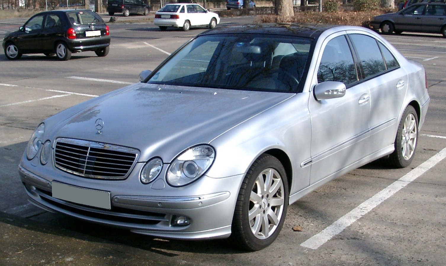 Mercedes W211 Benz E350 4matic Tuning Benztuning Wiring Diagram Get Free Image About