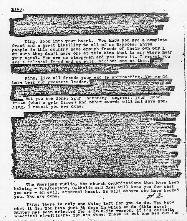 Mlk S Letter To Joe Higgenbottom