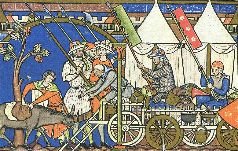 La Biblia de Maciejowski o Biblia de los Cruzados (1250) Morgan-bible-fl27