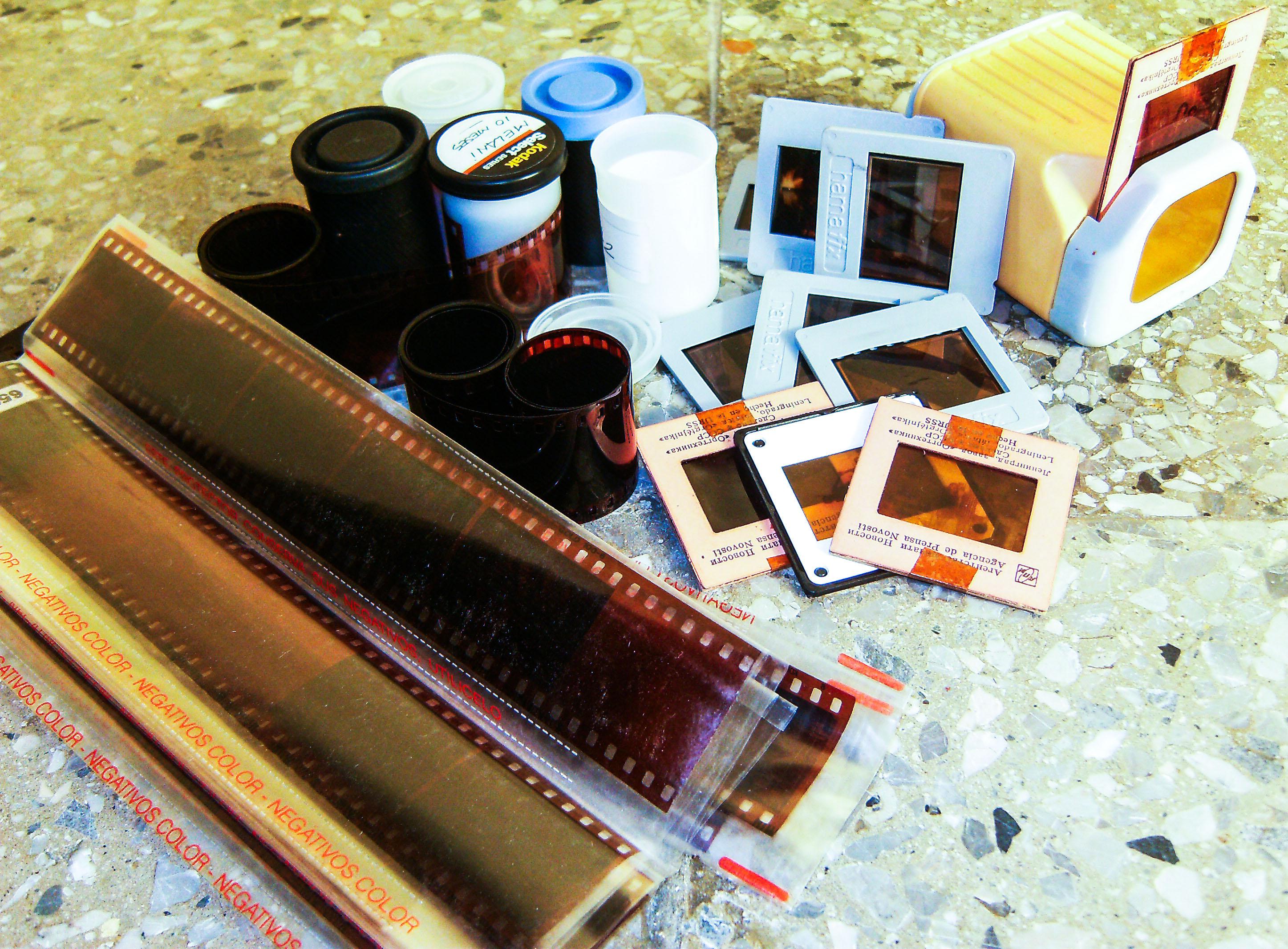 Печать фото с пленки в домашних условиях