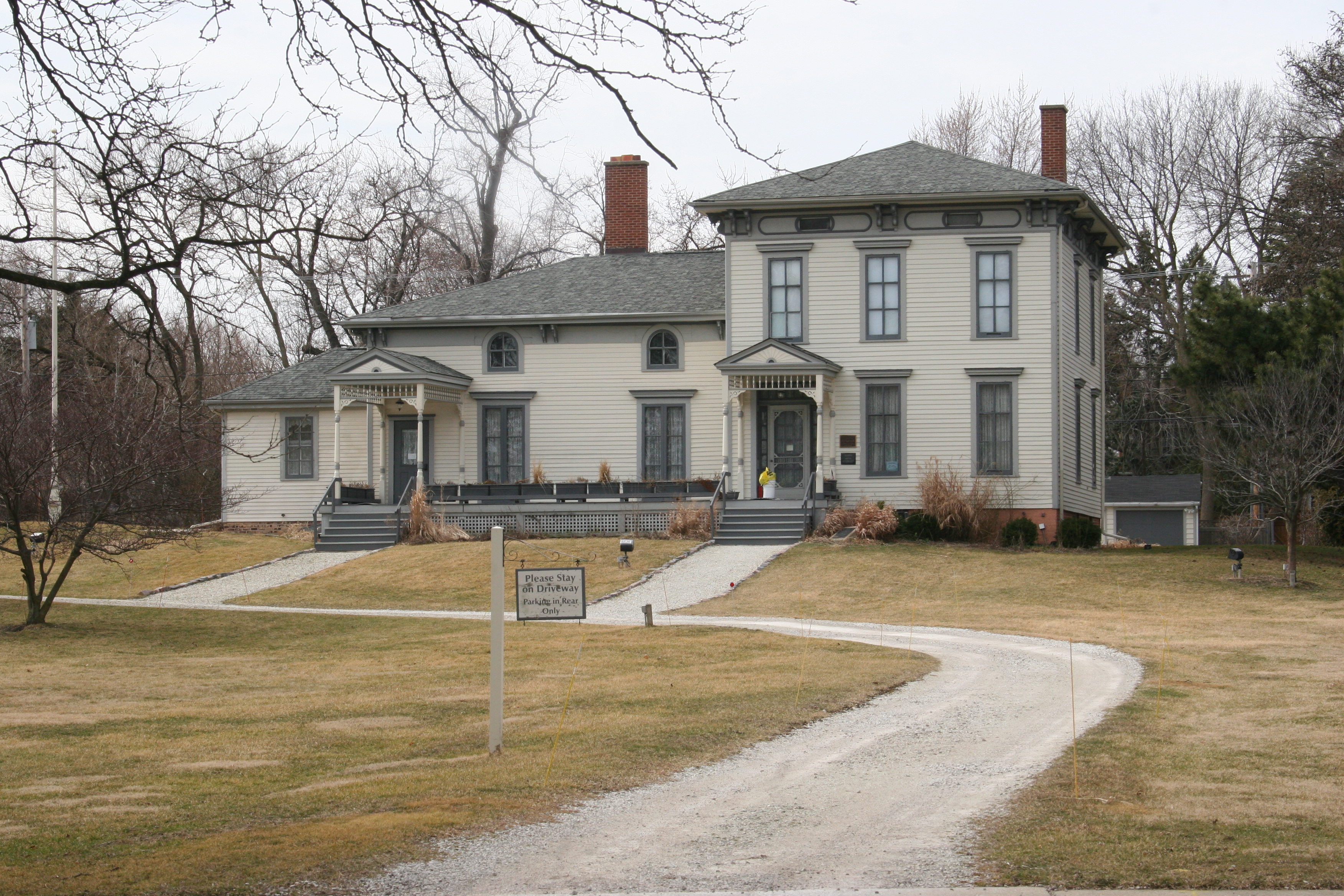 The Noble–Seymour–Crippen House,a Chicago Landmark, at 5624 N Newark Ave.