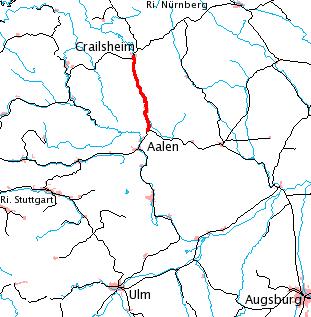 Upper Jagst Railway railway line