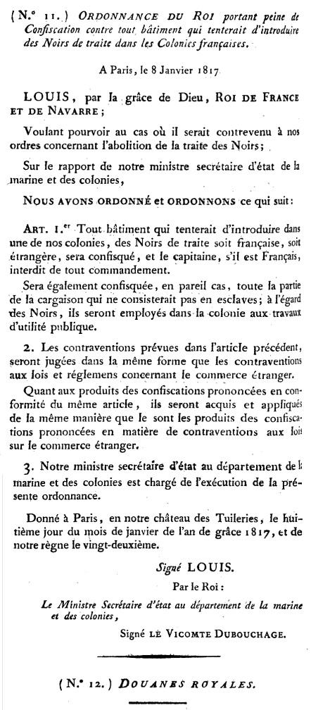 File:Ordonnance du 8 janvier 1817.jpg - Wikimedia Commons
