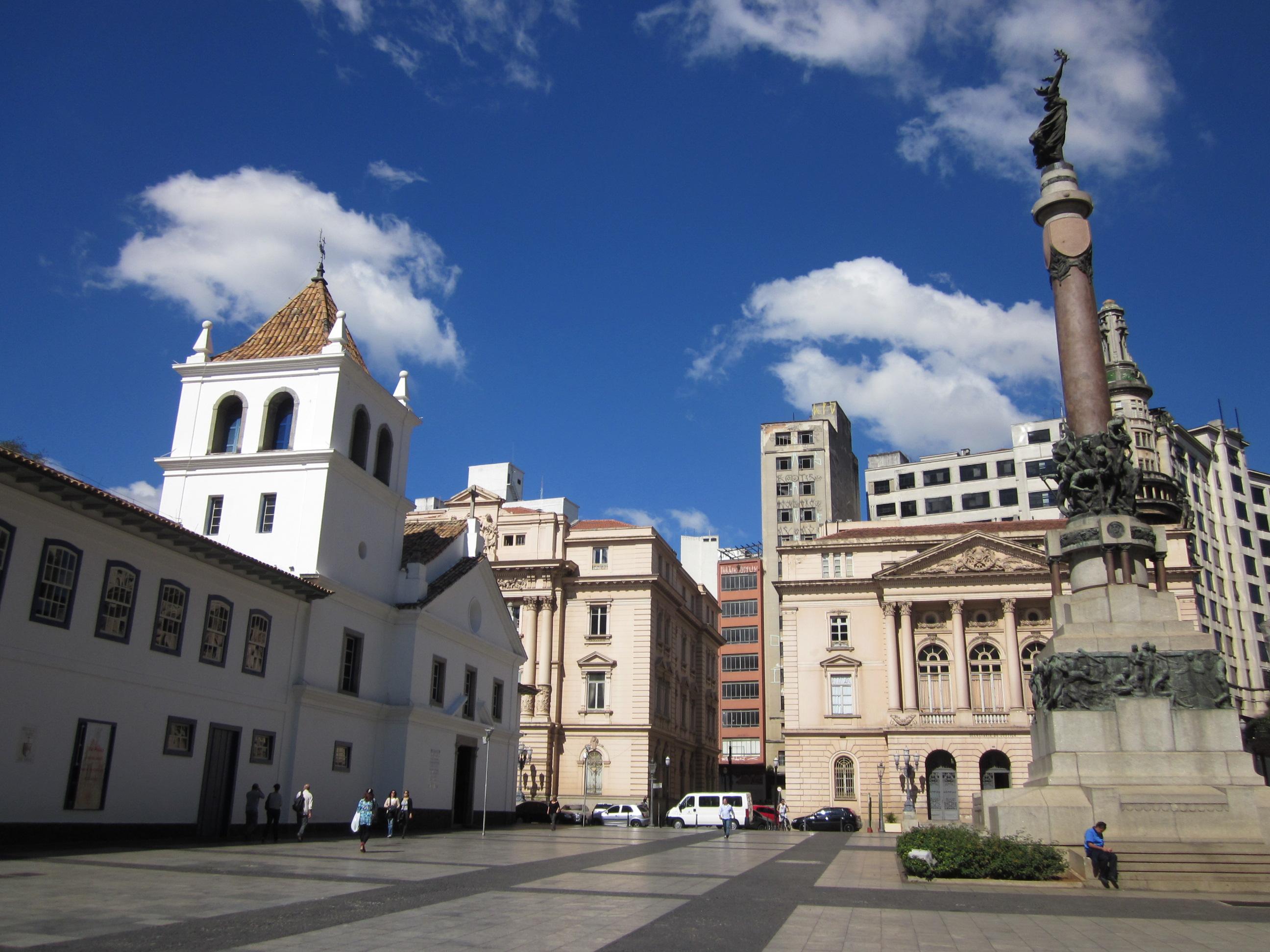 Páteo do Colégio (Antigo Colégio dos Jesuítas de São Paulo).