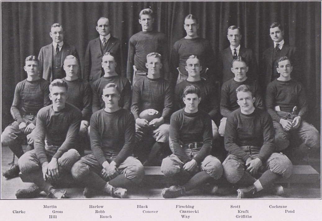 1917 Penn State Nittany Lions Football Team Wikipedia