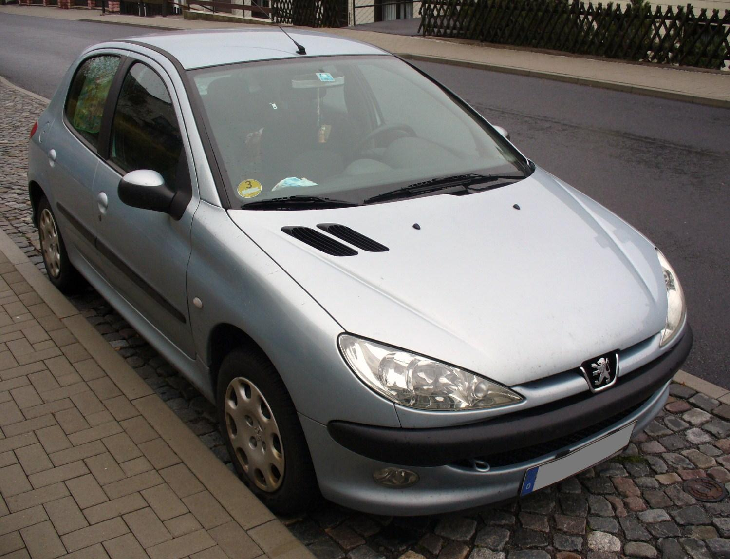 File Peugeot 206 Hdi Jpg Wikimedia Commons