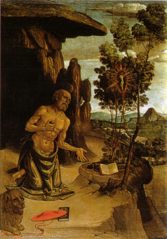 San Girolamo nel deserto (Pinturicchio) - Wikipedia