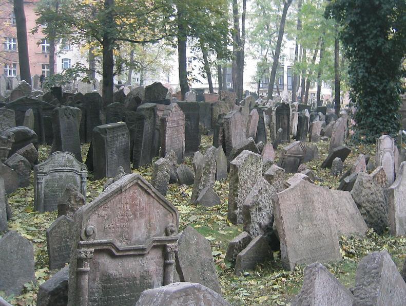 Praha Jewish Cemetery 2003b