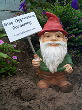 I wrote a Wiki article on Garden Gnome Liberationist.