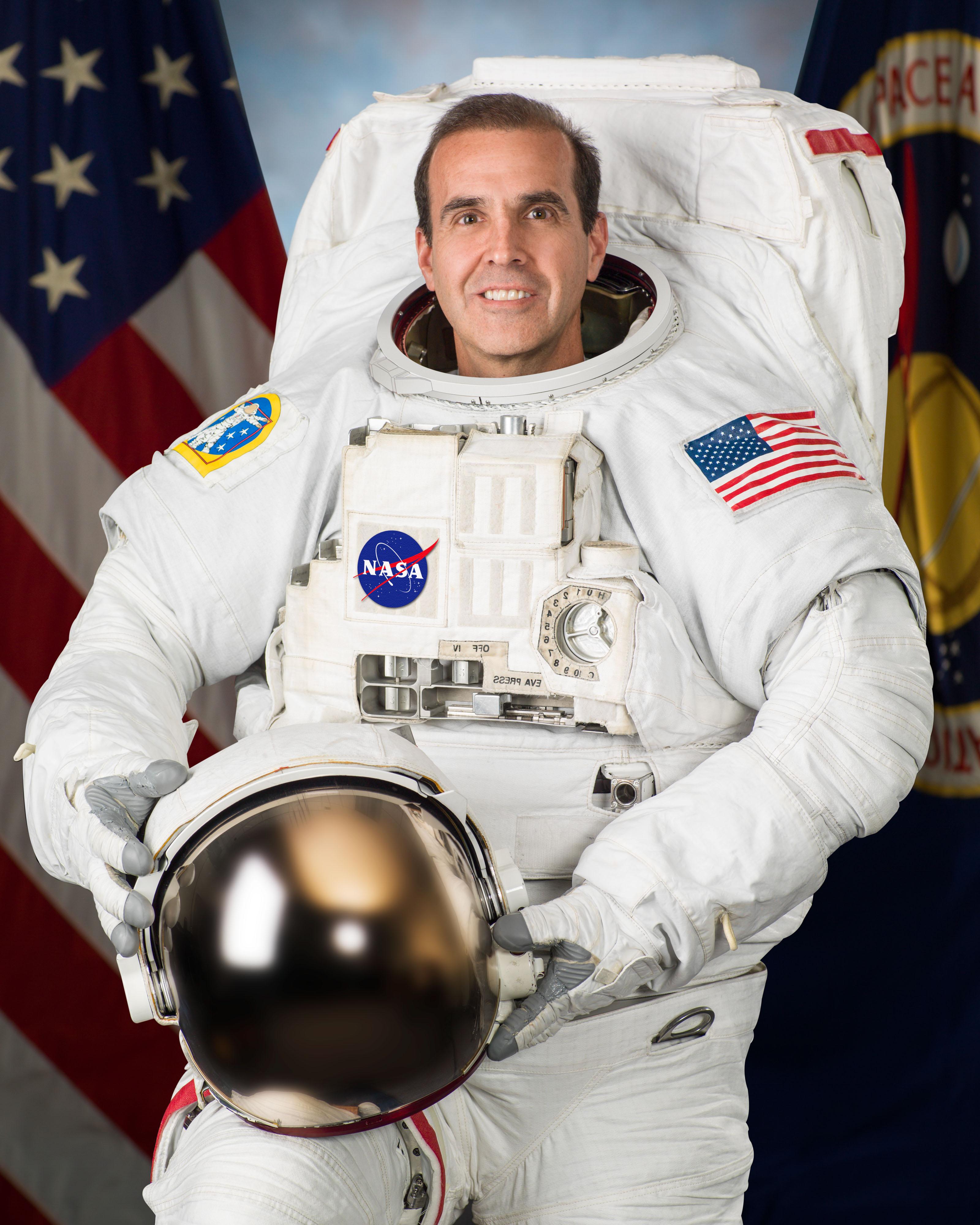 Astronaut Rick Mastracchio