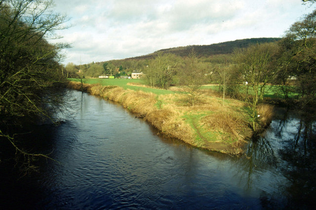 Rivers Derwent and Amber, Ambergate - geograph.org.uk - 129352