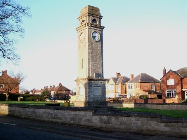 Romanby War Memorial - geograph.org.uk - 364947
