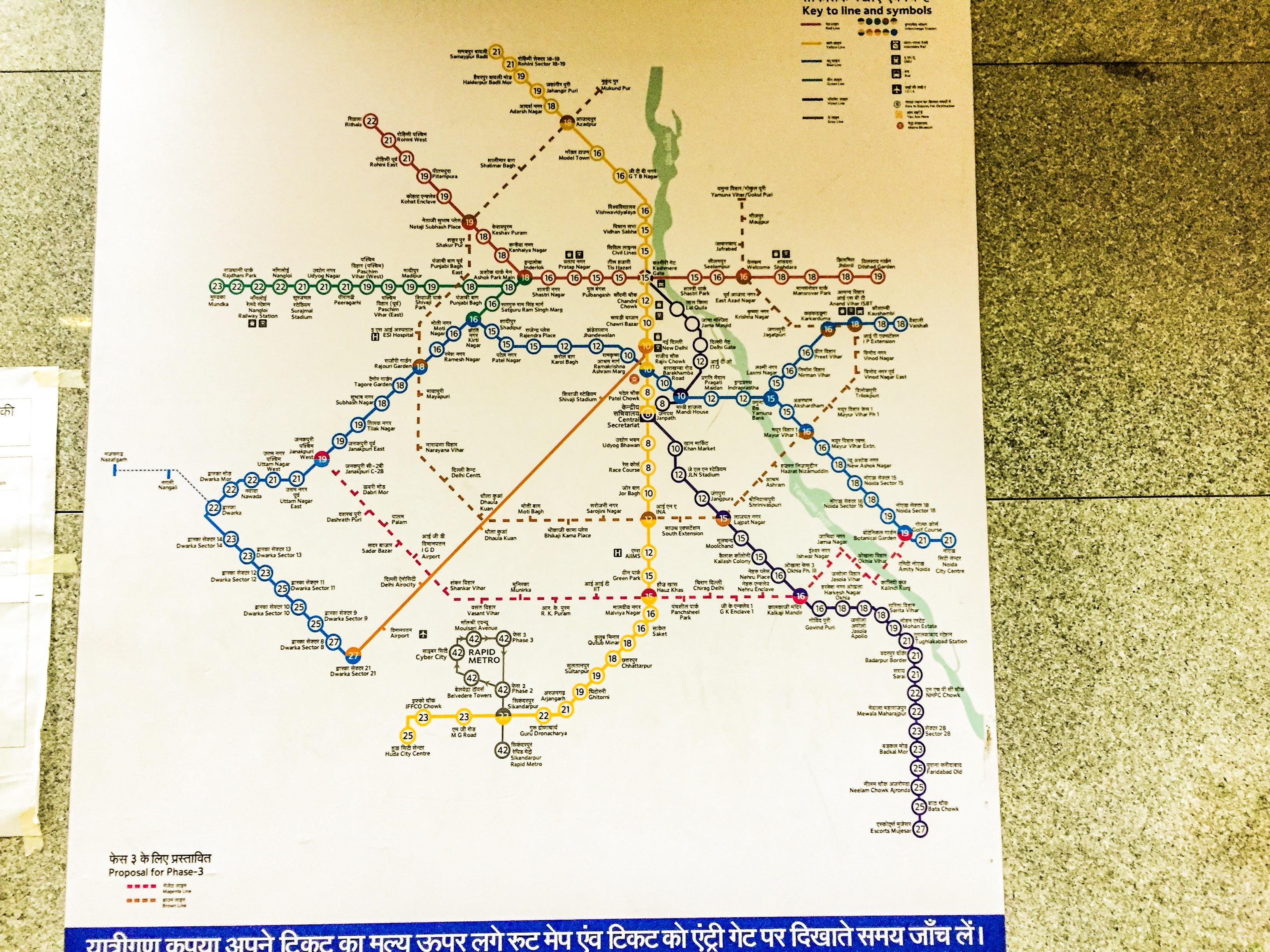 Dmrc Route Map Pdf