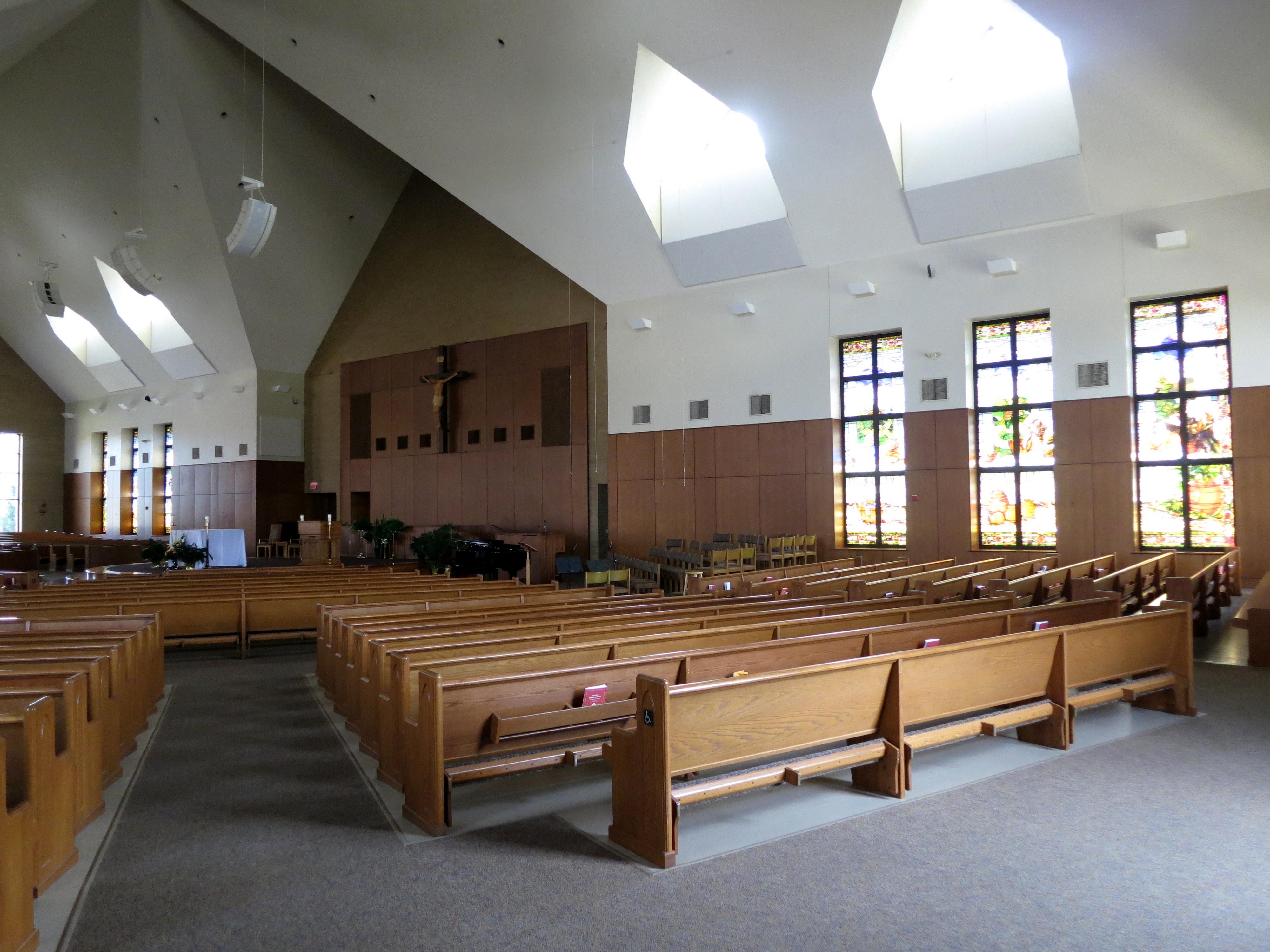 File:Saint Maximilian Kolbe Catholic Church (Liberty Township, Ohio ...