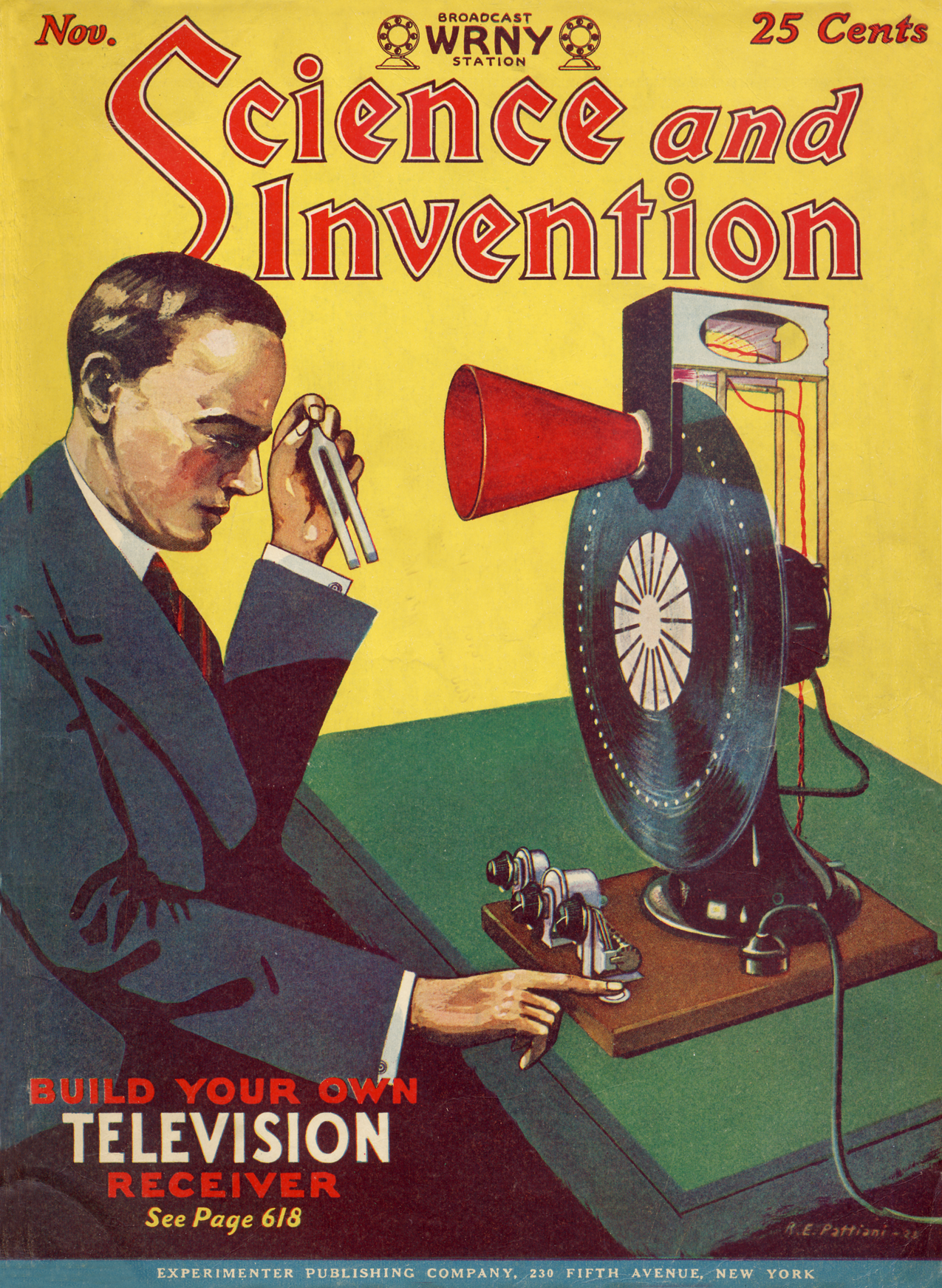 Science & invention cover : 1927