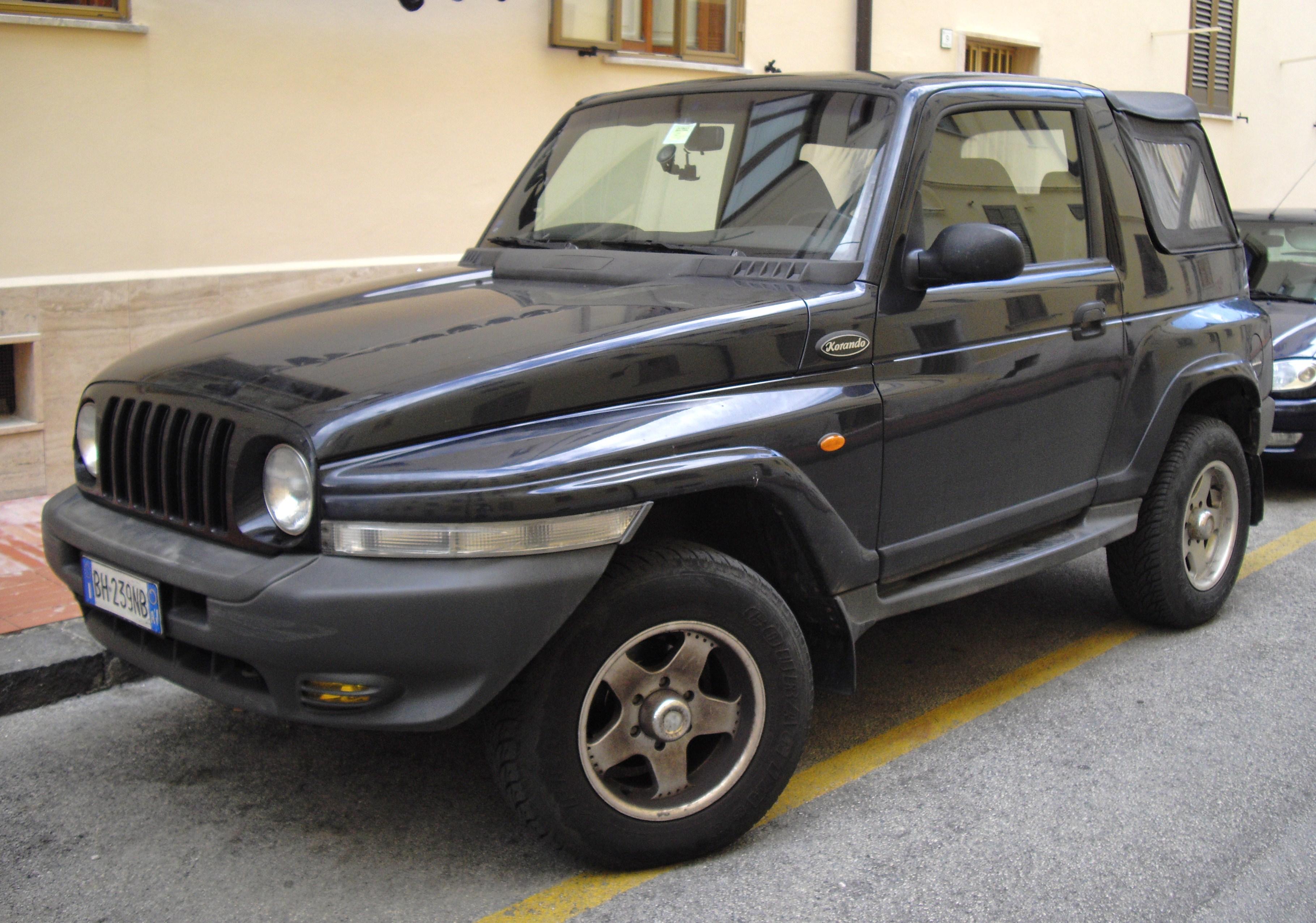 Ssangyong korando autos weblog