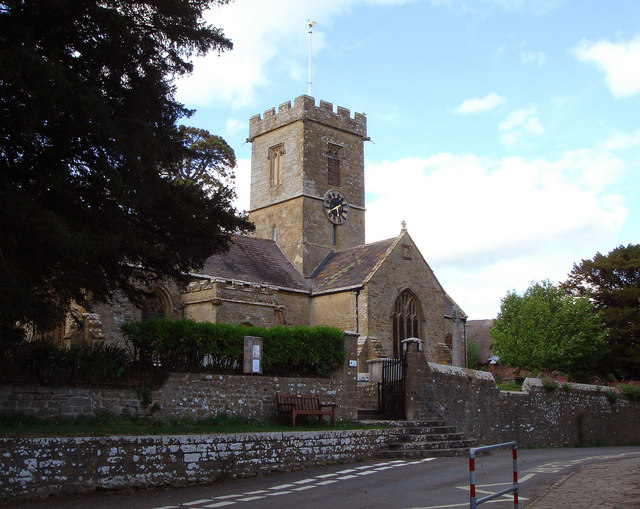 St John The Baptist Church Symondsbury - geograph.org.uk - 425918