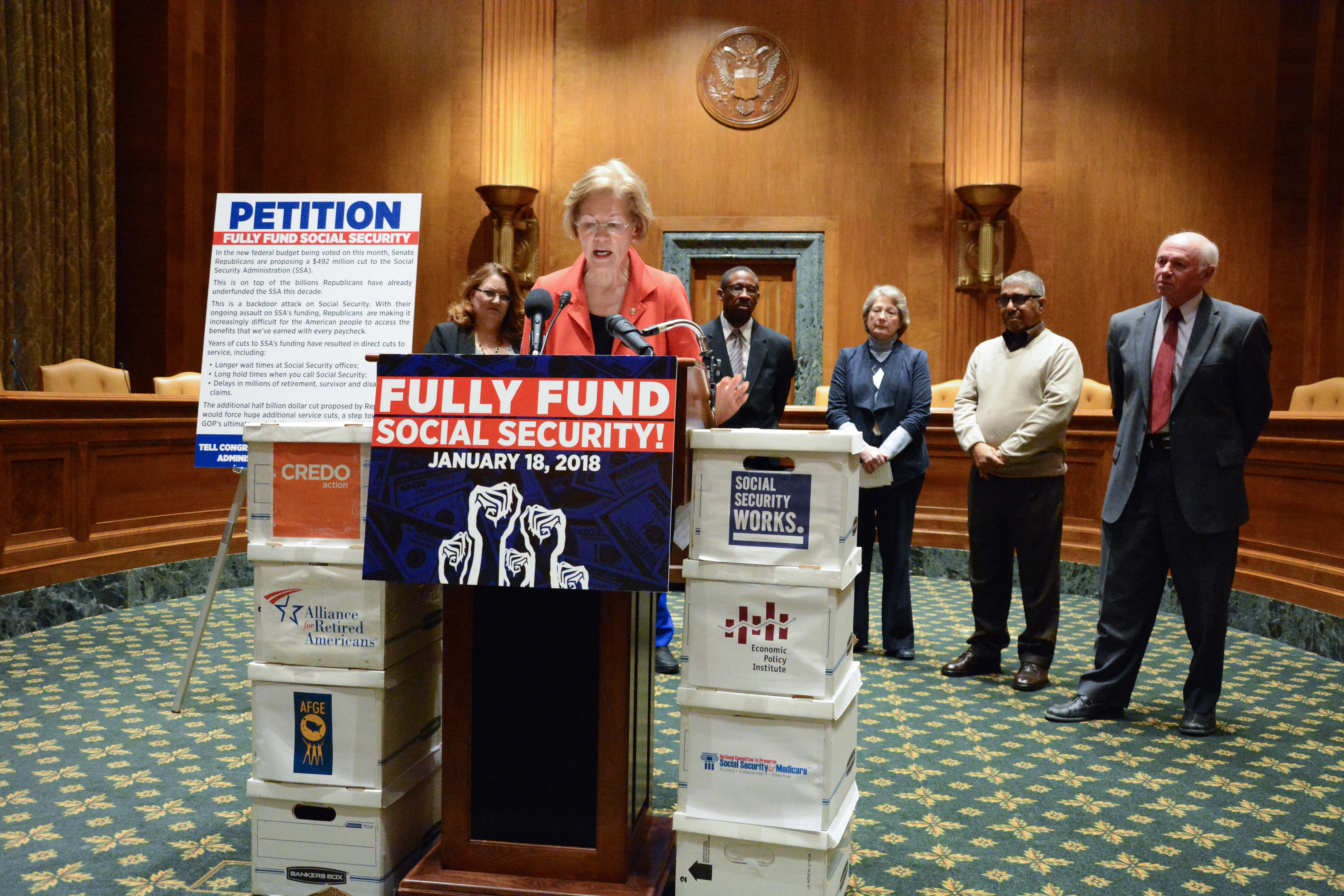 File:Stand Up for Social Security Petition Press Conference