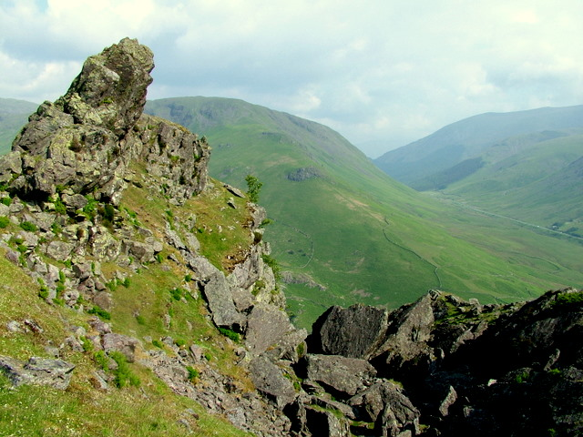 Summit of Helm Crag - geograph.org.uk - 614574