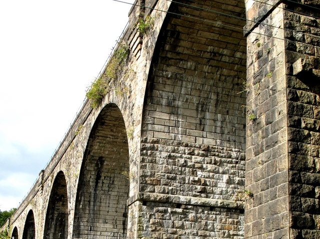 Tavistock, Railway Viaduct - geograph.org.uk - 1563547