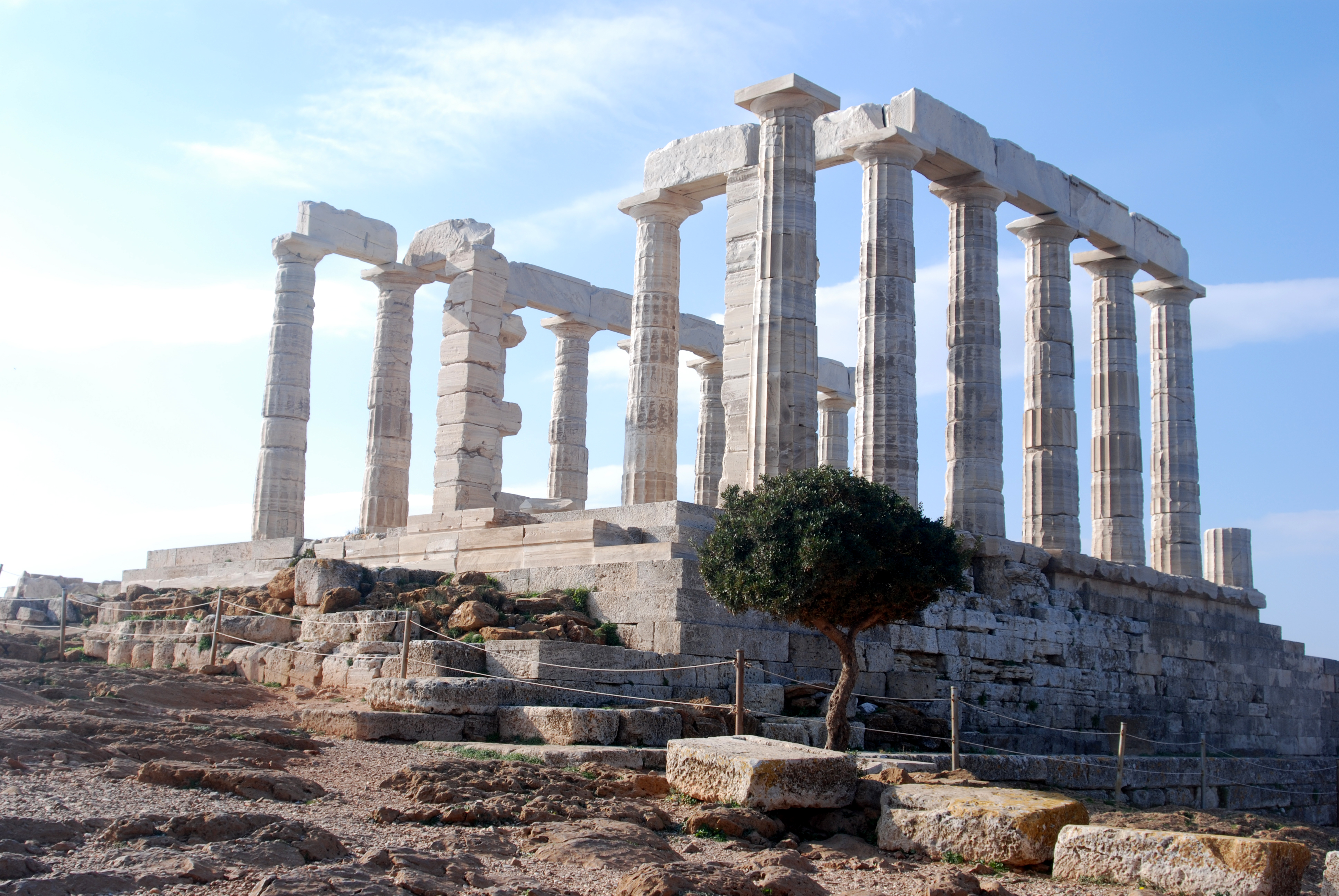 File:Temple of Poseidon at Cape Sounion.jpg