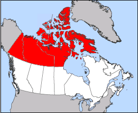 Map Of Canada With Territories.Canadian Senate Divisions Wikipedia