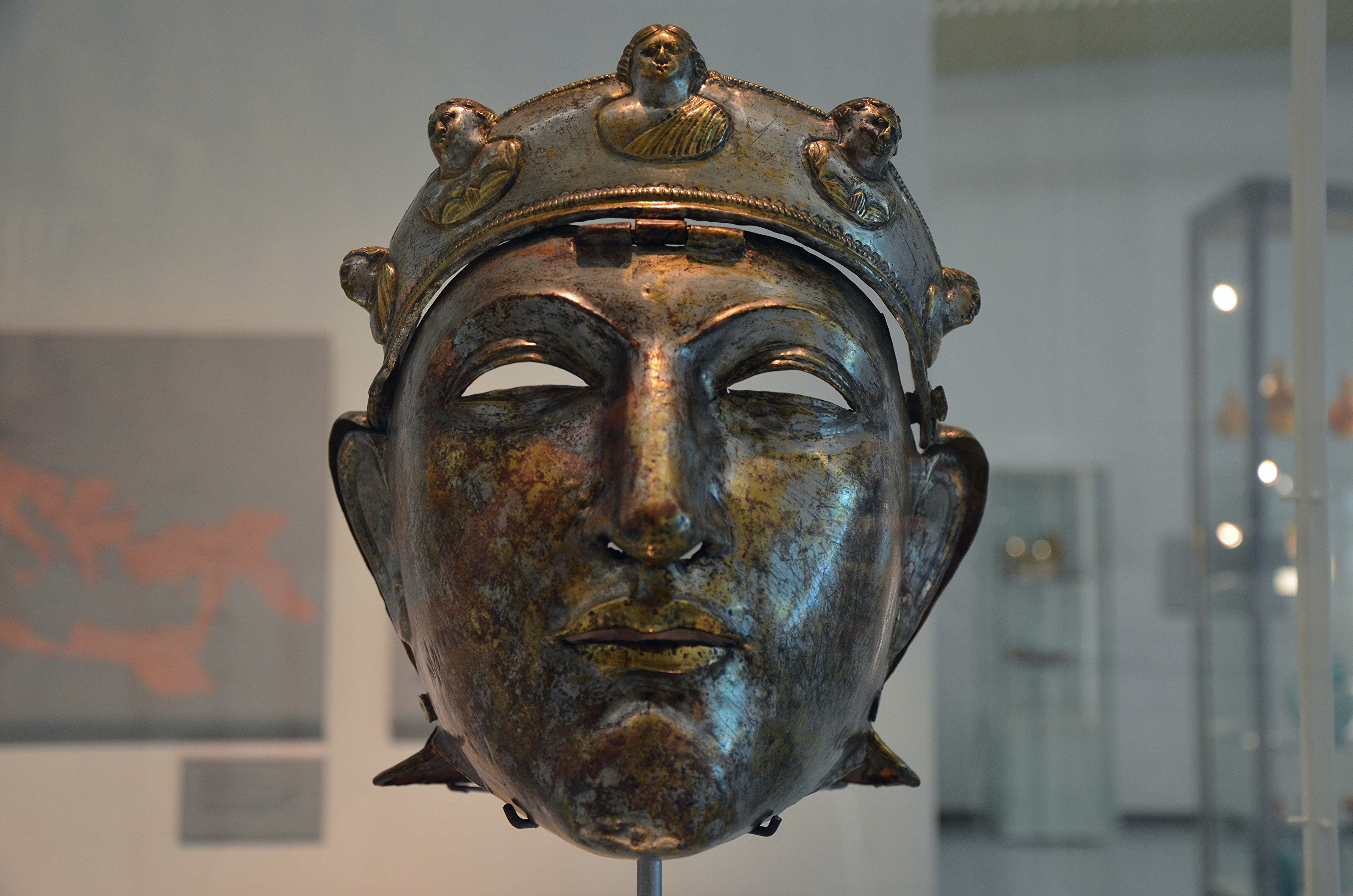 Who Invented Iron ~ File the nijmegen cavalry helmet an iron mask sheathed in