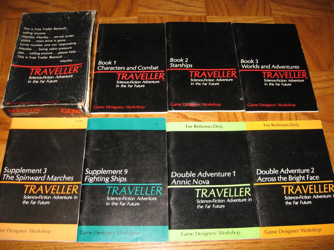 Traveller, MegaTraveller