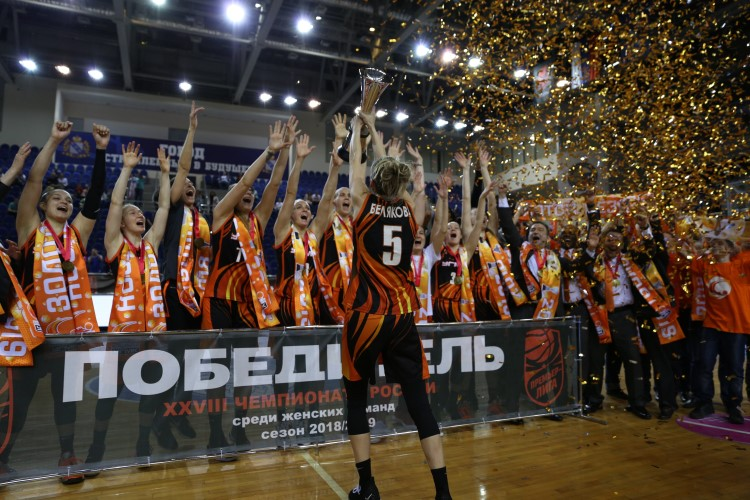 UMMC is a thirteen-time champion of Russia 3.jpg