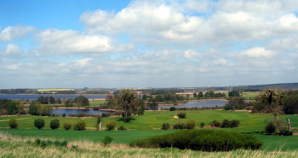 Fünf-Seen-Blick in der Uckermark, Brandenburg