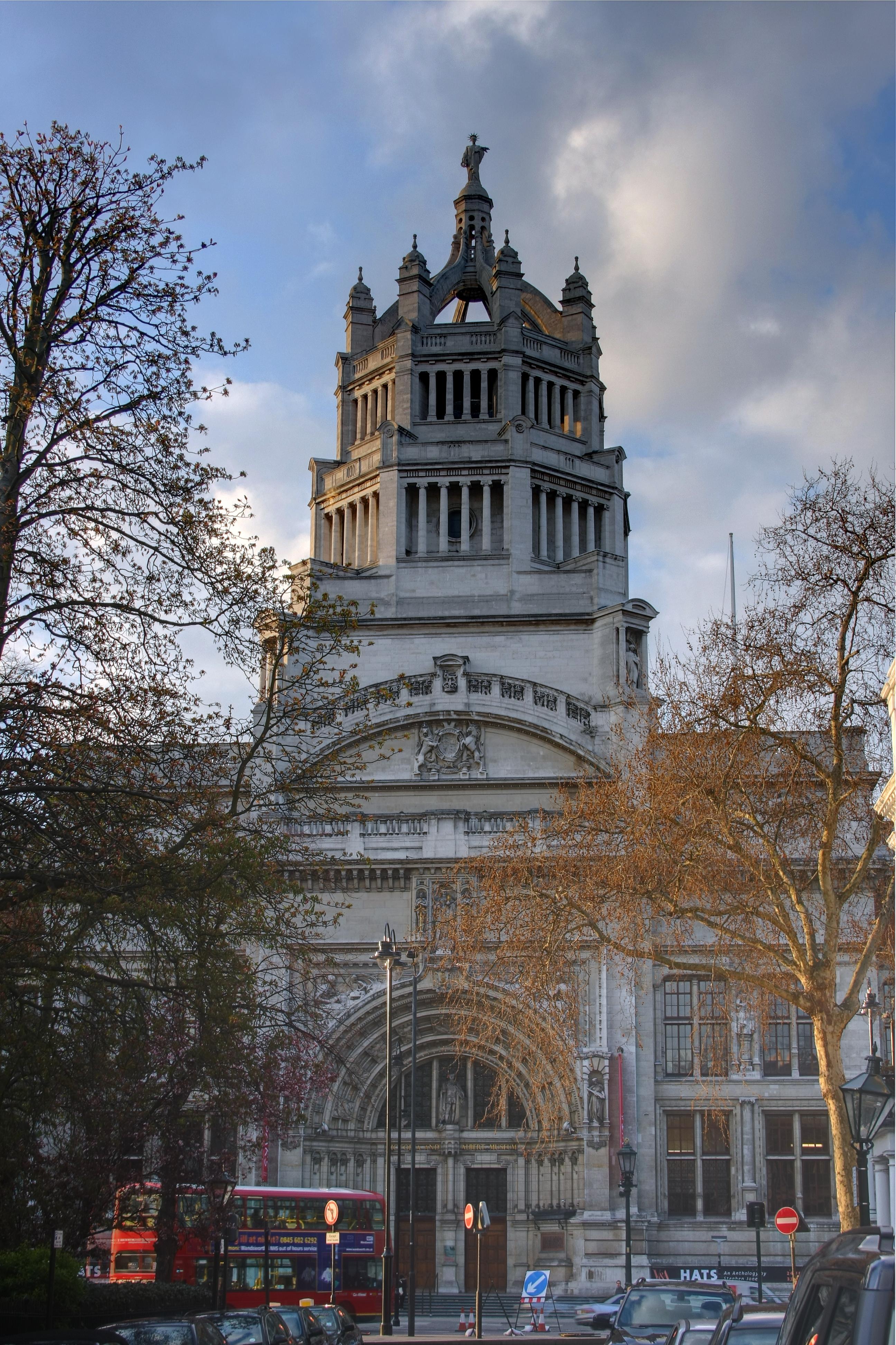 File victoria and albert museum wikimedia commons for Victoria and albert museum london
