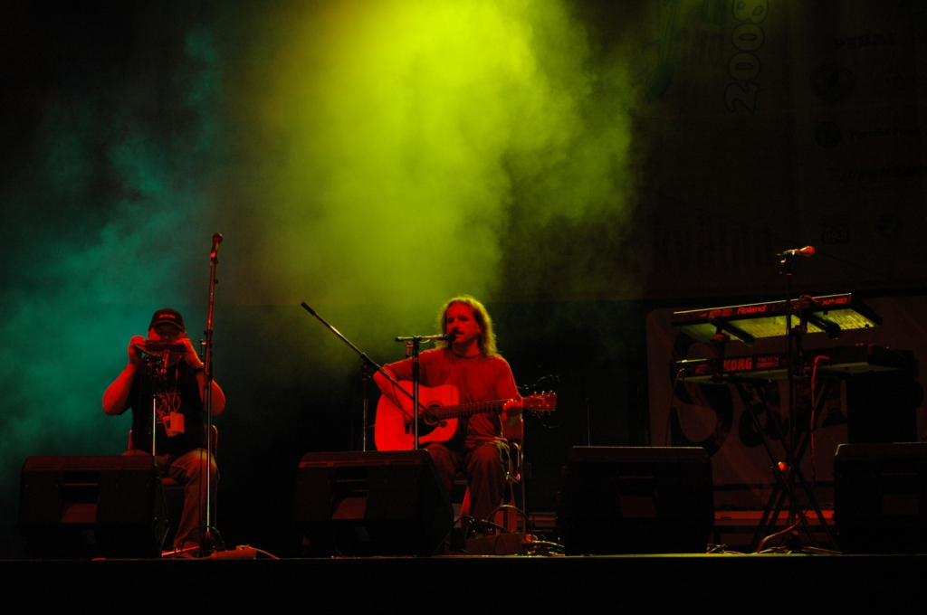 Vlasta Redl at the Czech festival Lochotín 2008