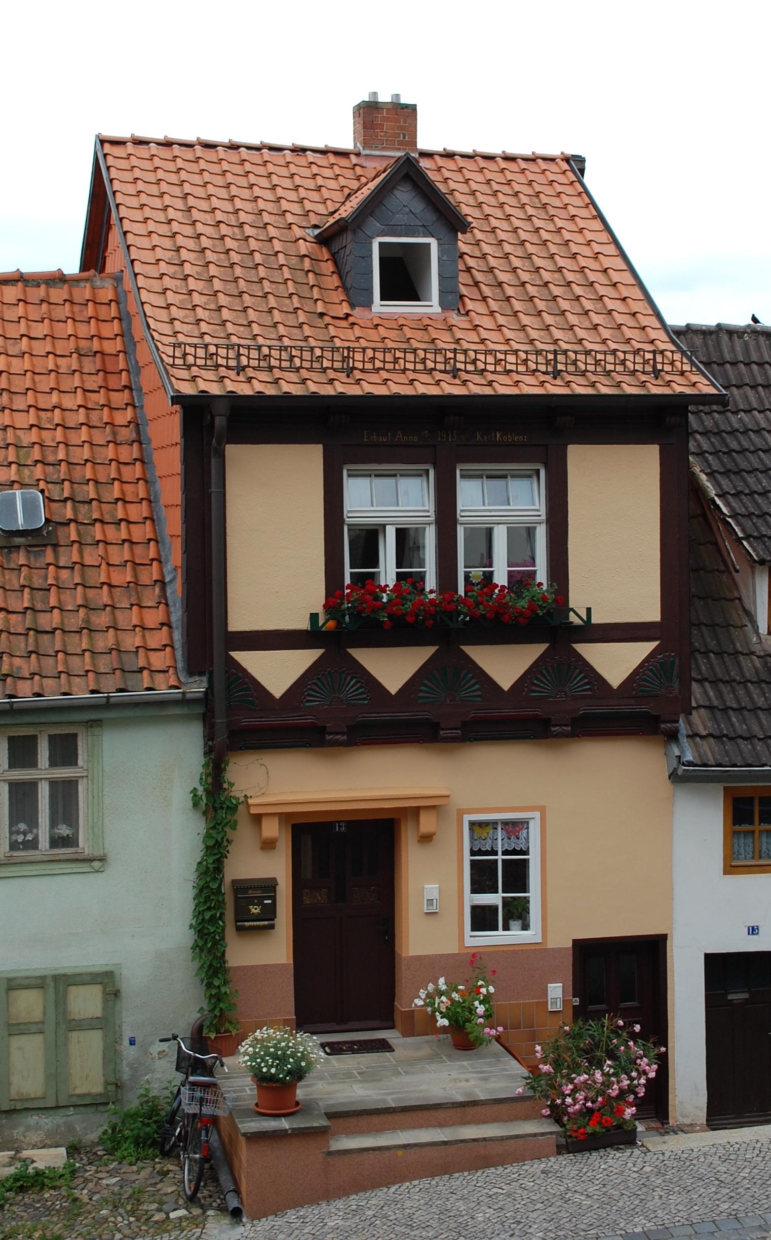 Wassertorstraße 13 (Quedlinburg)