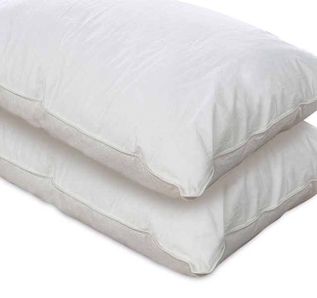 two white pillows