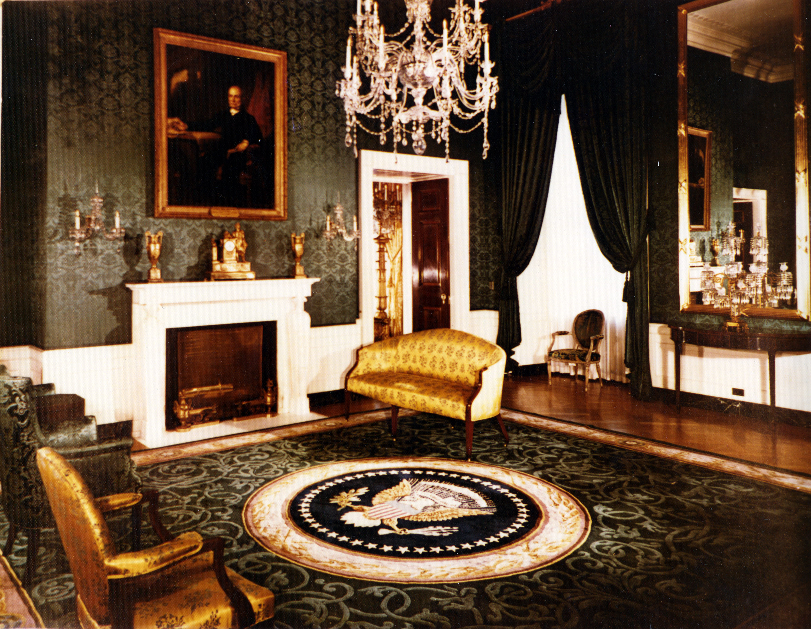 file white house green room 07 15 wikimedia commons. Black Bedroom Furniture Sets. Home Design Ideas