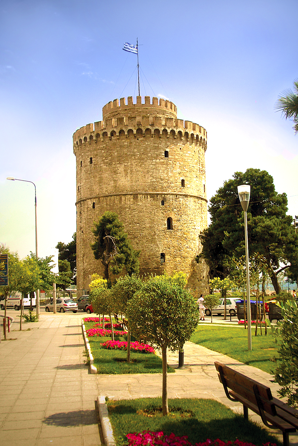 Image result for white tower of thessaloniki