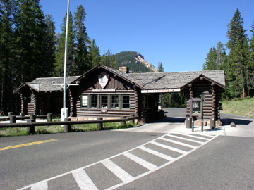 File:Yellowstone NP Northeast Entrance Station.jpg