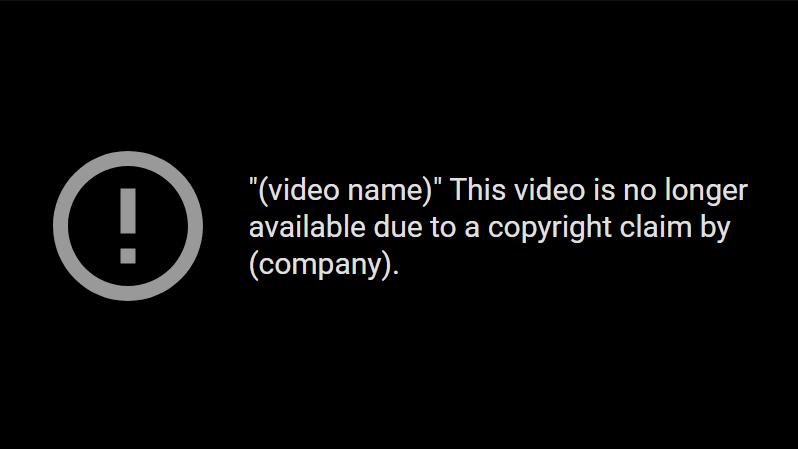 youtube copyright strike wikipedia