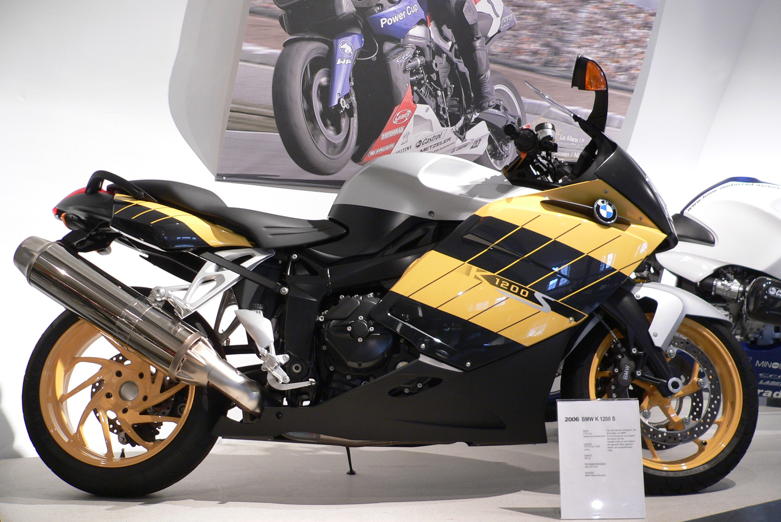 Motorcycles Bmw K 1200 S Beautiful Bikes