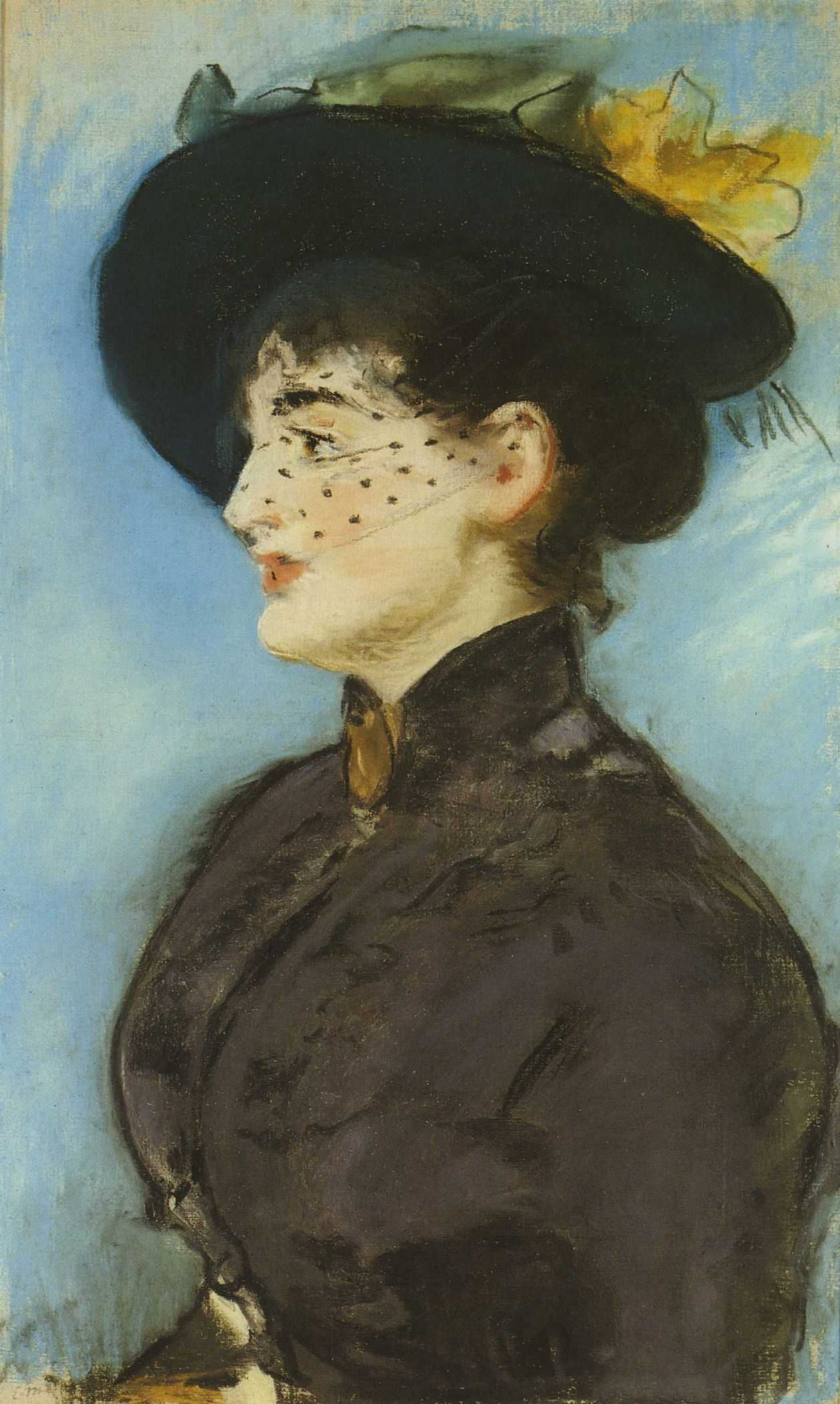Édouard Manet - La Viennoise Irma Brunner (P79)
