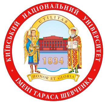 Logo of Taras Shevchenko National University of Kyiv