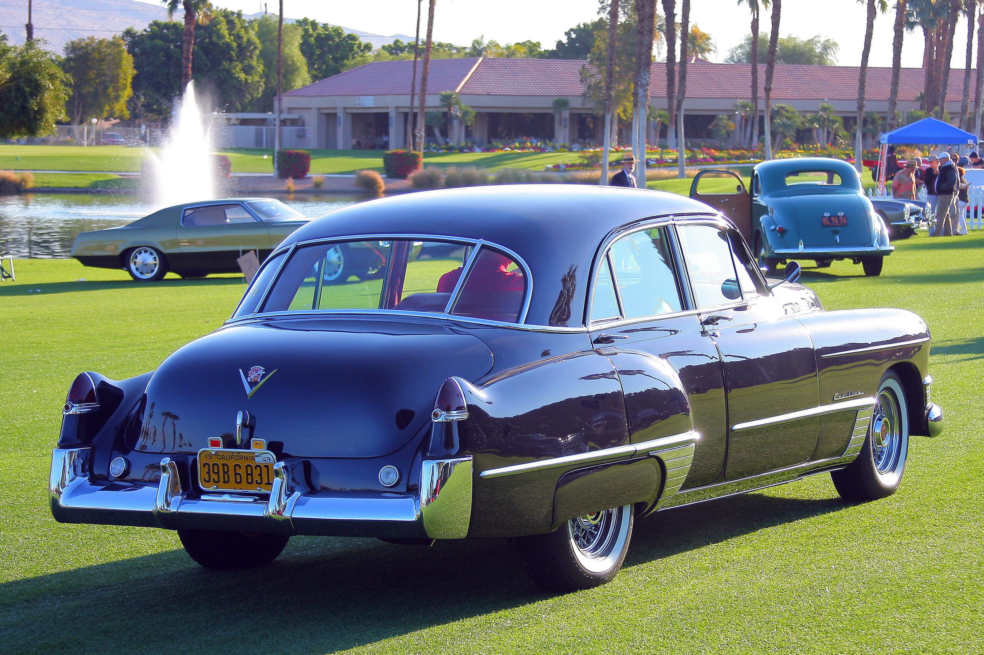 Mom 39 s godfather 1951 oldschoolcool for 1949 cadillac 4 door sedan