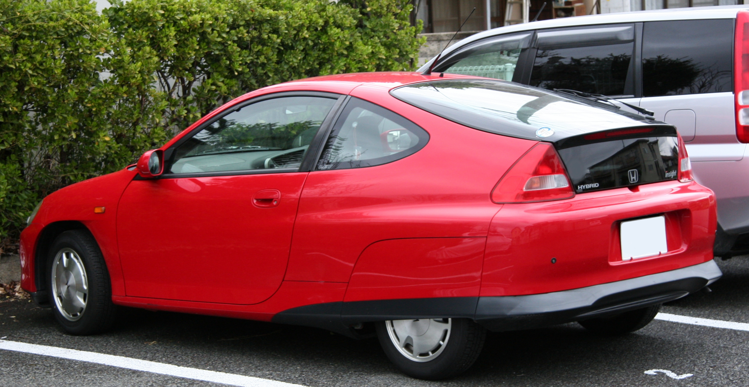 File 1st Generation Honda Insight Rear Jpg Wikimedia Commons