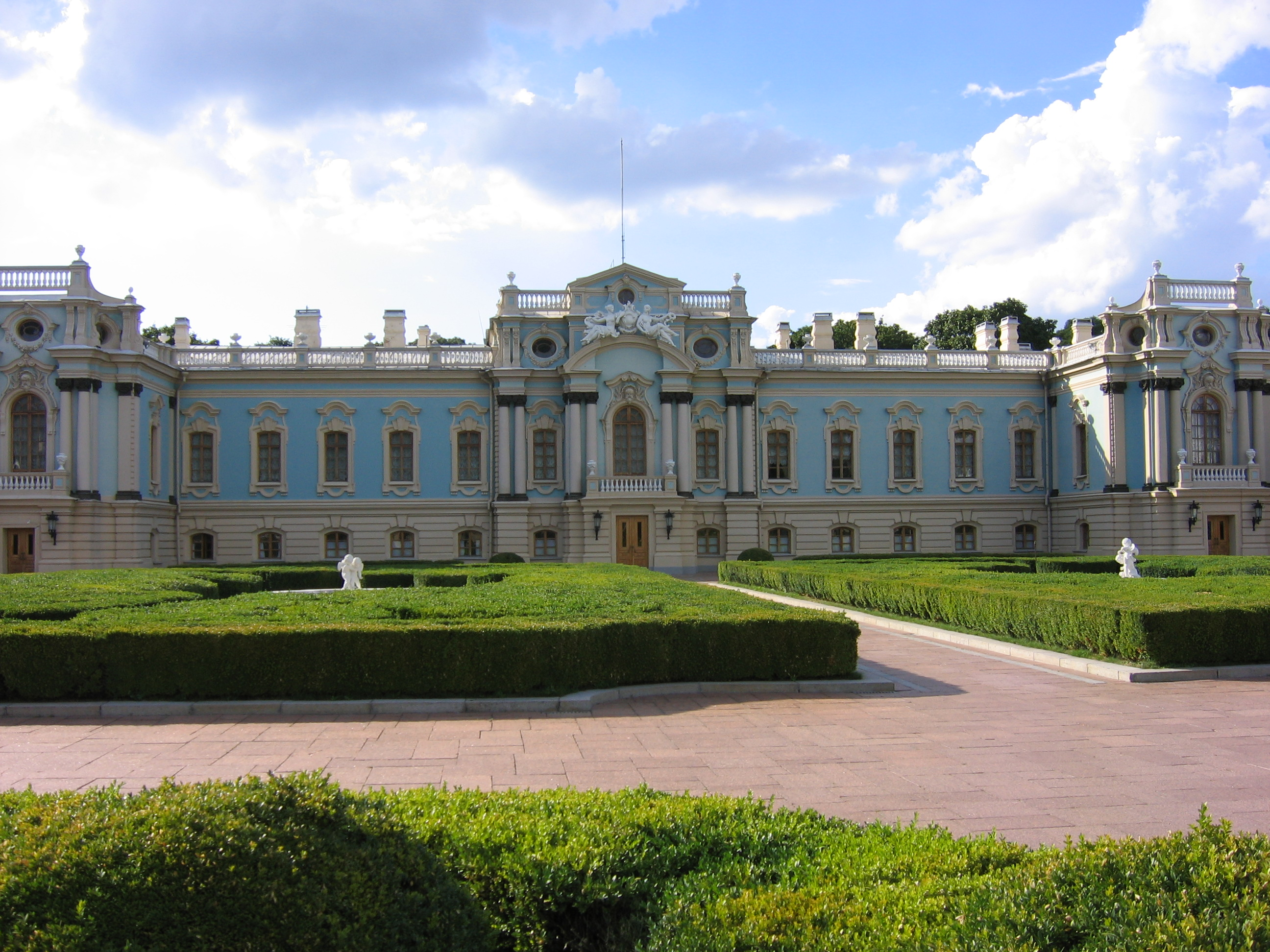 Mariinsky Palace in Kiev: history, photos, work schedule, address 36