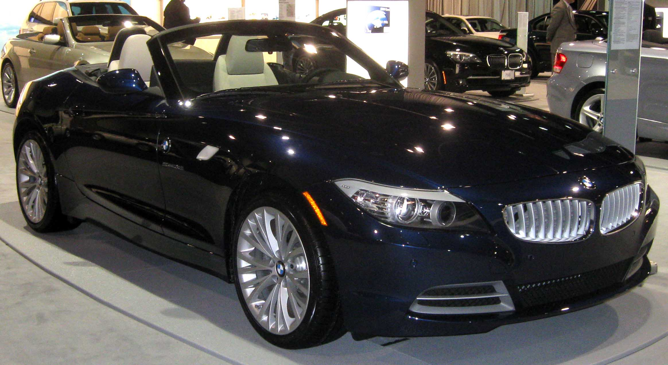 File 2009 Bmw Z4 Dc Jpg Wikimedia Commons