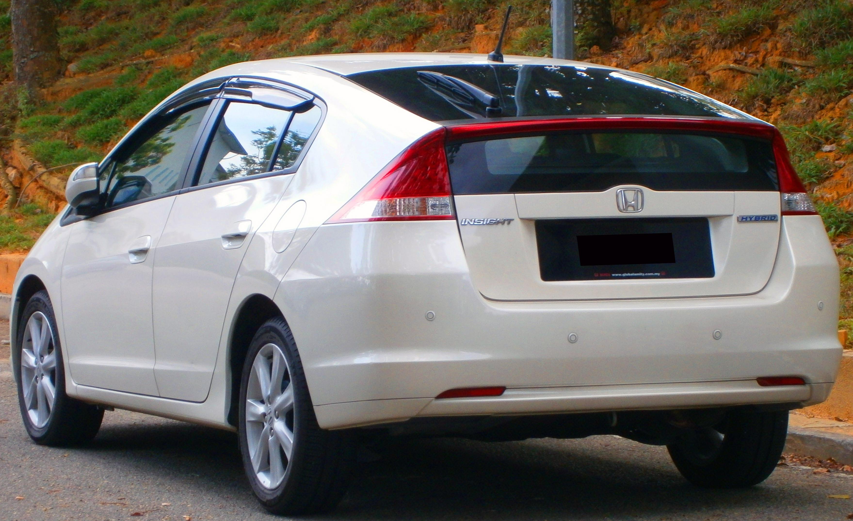 Description 2011 Honda Insight Hybrid in Cyberjaya, Malaysia (02).jpg