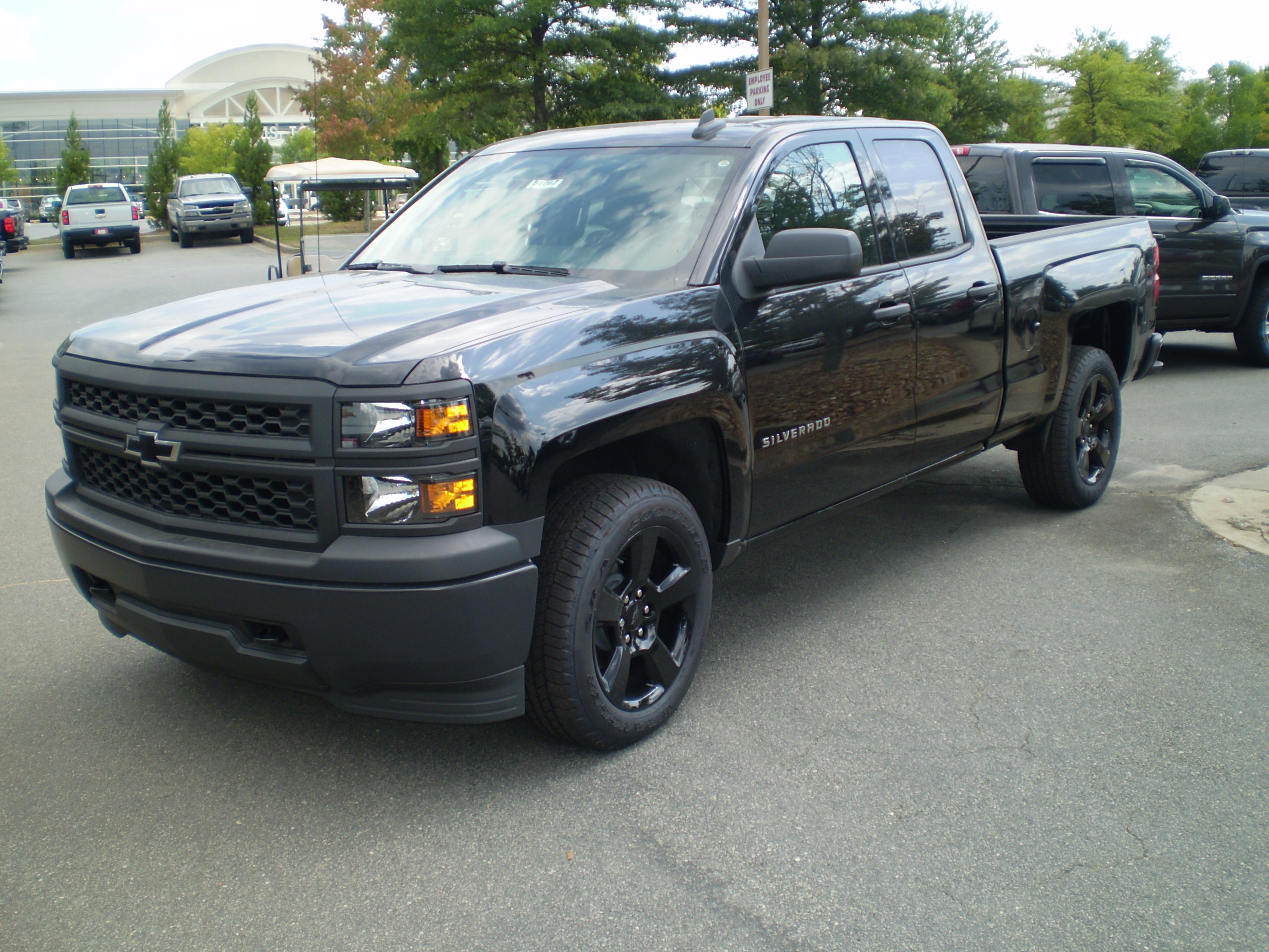 2015 standard cab silverado blackout edition autos post. Black Bedroom Furniture Sets. Home Design Ideas