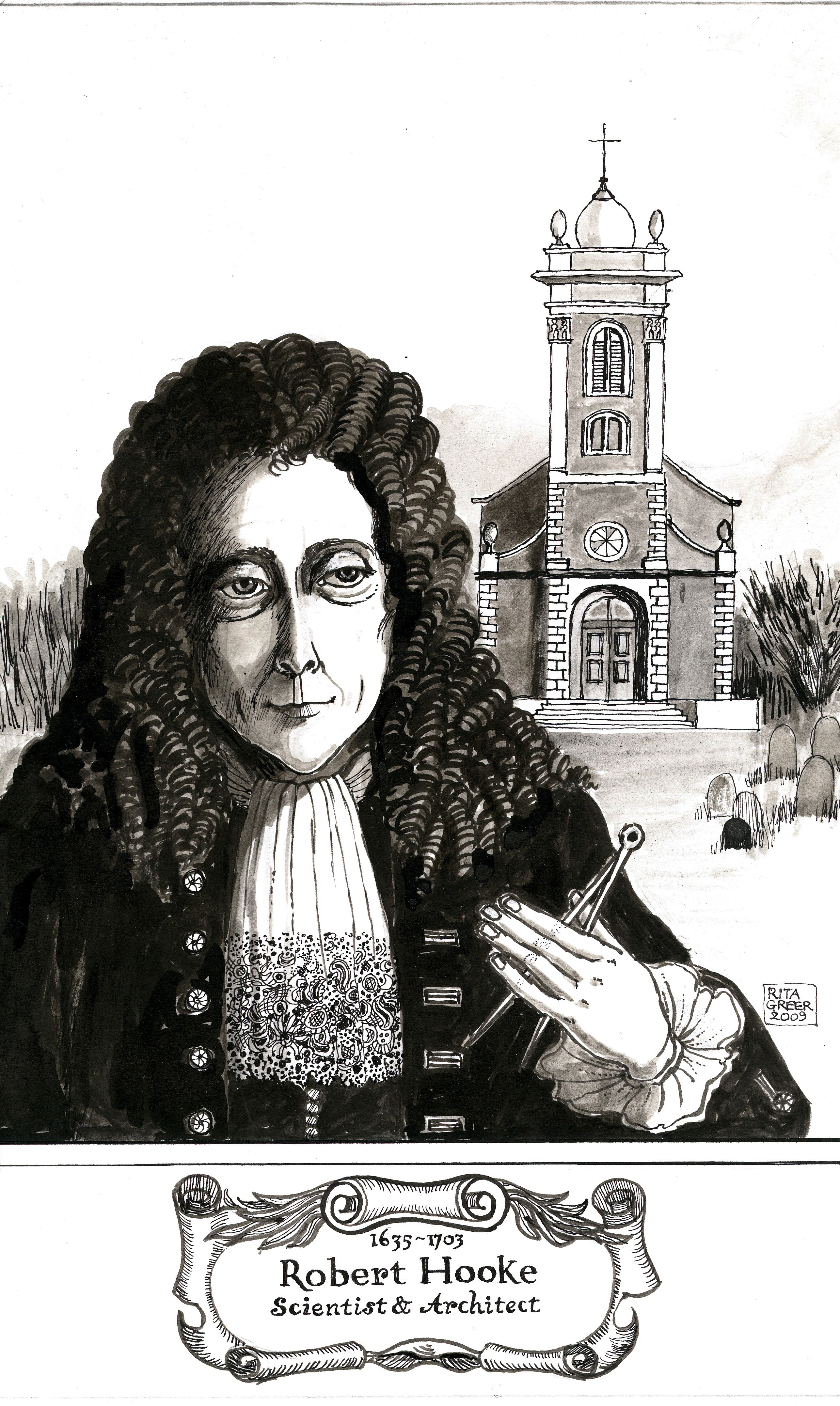 a biography of robert hooke a british scientist from the 17th century