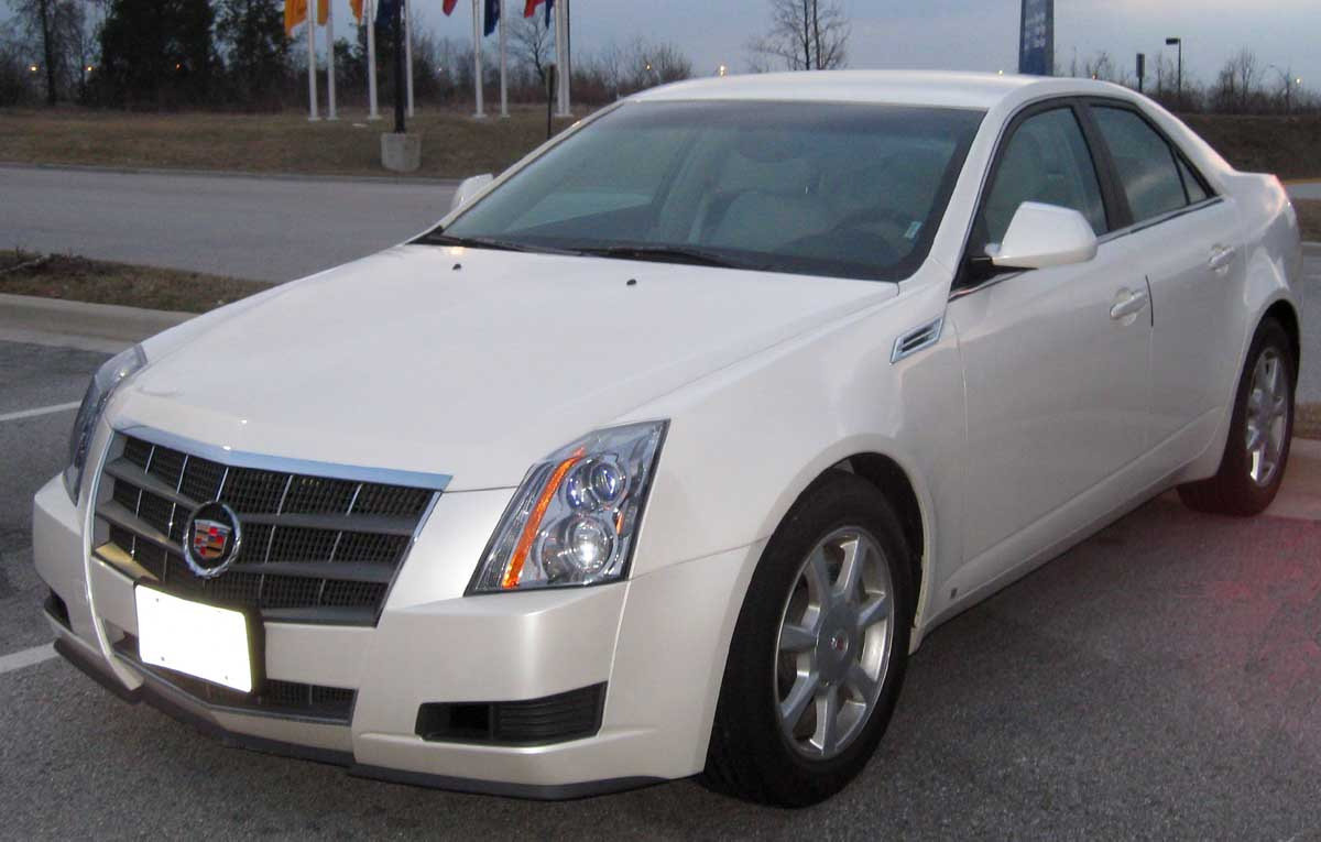 File 2nd Cadillac Cts Jpg Wikimedia Commons