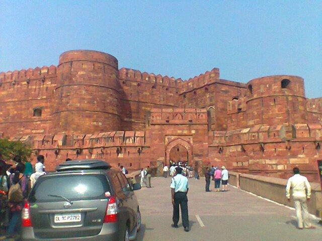 File:Agra fort in agra.jpg